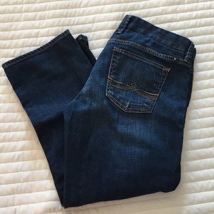 Lucky denim cropped jeans